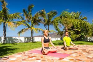 yoga na Kanarach