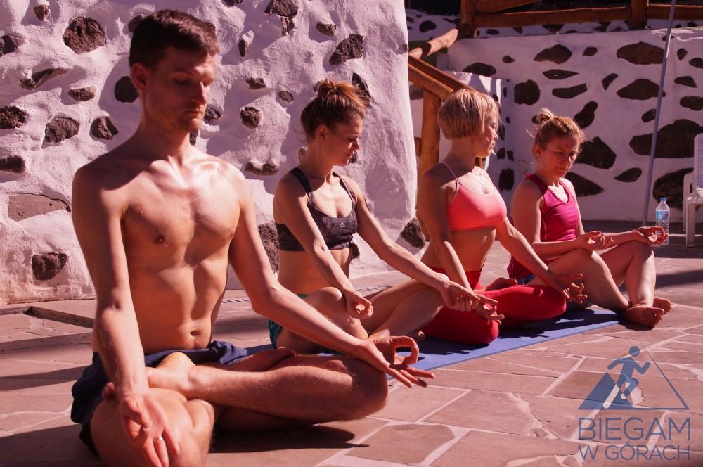 obóz biegowy z ashtanga yoga