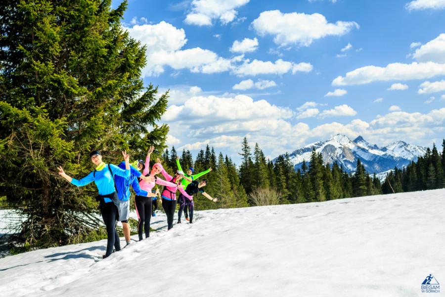 Kwietniowy obóz biegowy w Tatrach 2015. Fot. Błażej Łyjak
