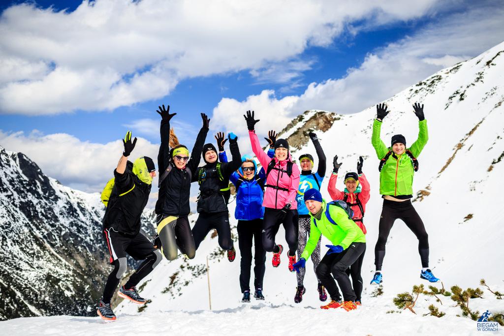 Obóz biegowy w Tatrach, treningi w górach