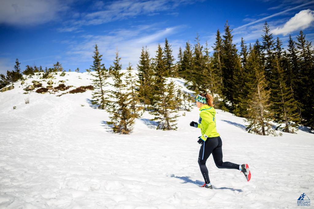 Trening w Tatrach zimą