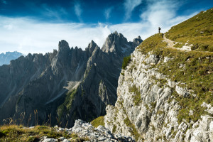 obóz biegowy w Dolomitach