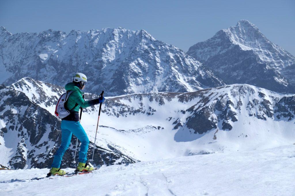 skitury, Kasprowy Wierch, Tatry, trening w Tatrach