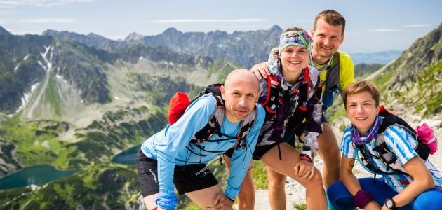 Trening w Tatrach - Krzyżne