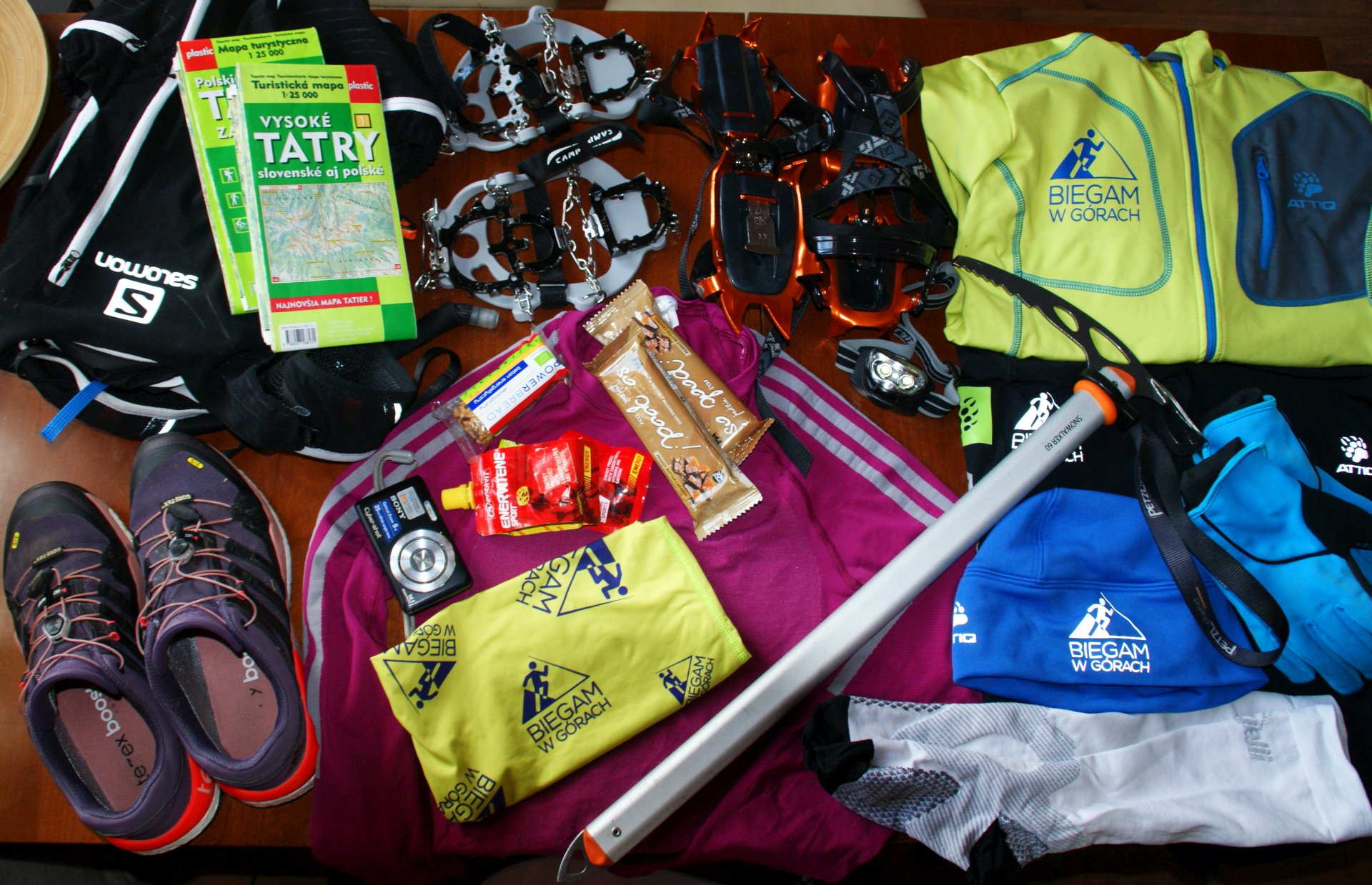 Sprzęt w Tatry na biegowo