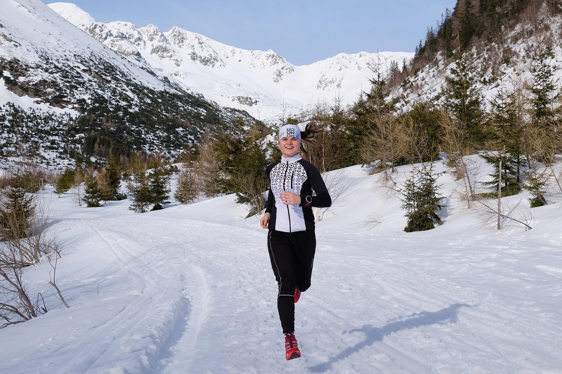 Zimowe trasy biegowe, Dolina Żarska