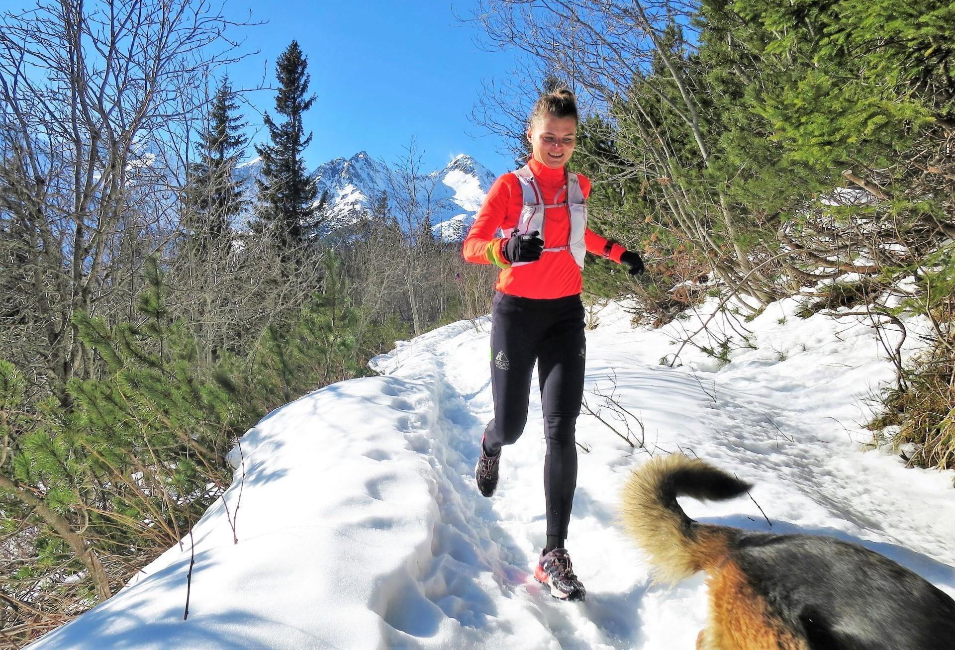 Wycieczka biegowa do Białego Stawu, trening w Tatrach, adidas terrex boost