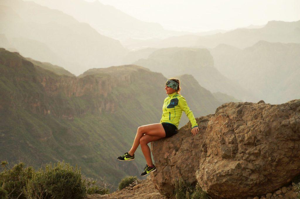 Roque Nublo, Gran Canaria - obóz biegowy