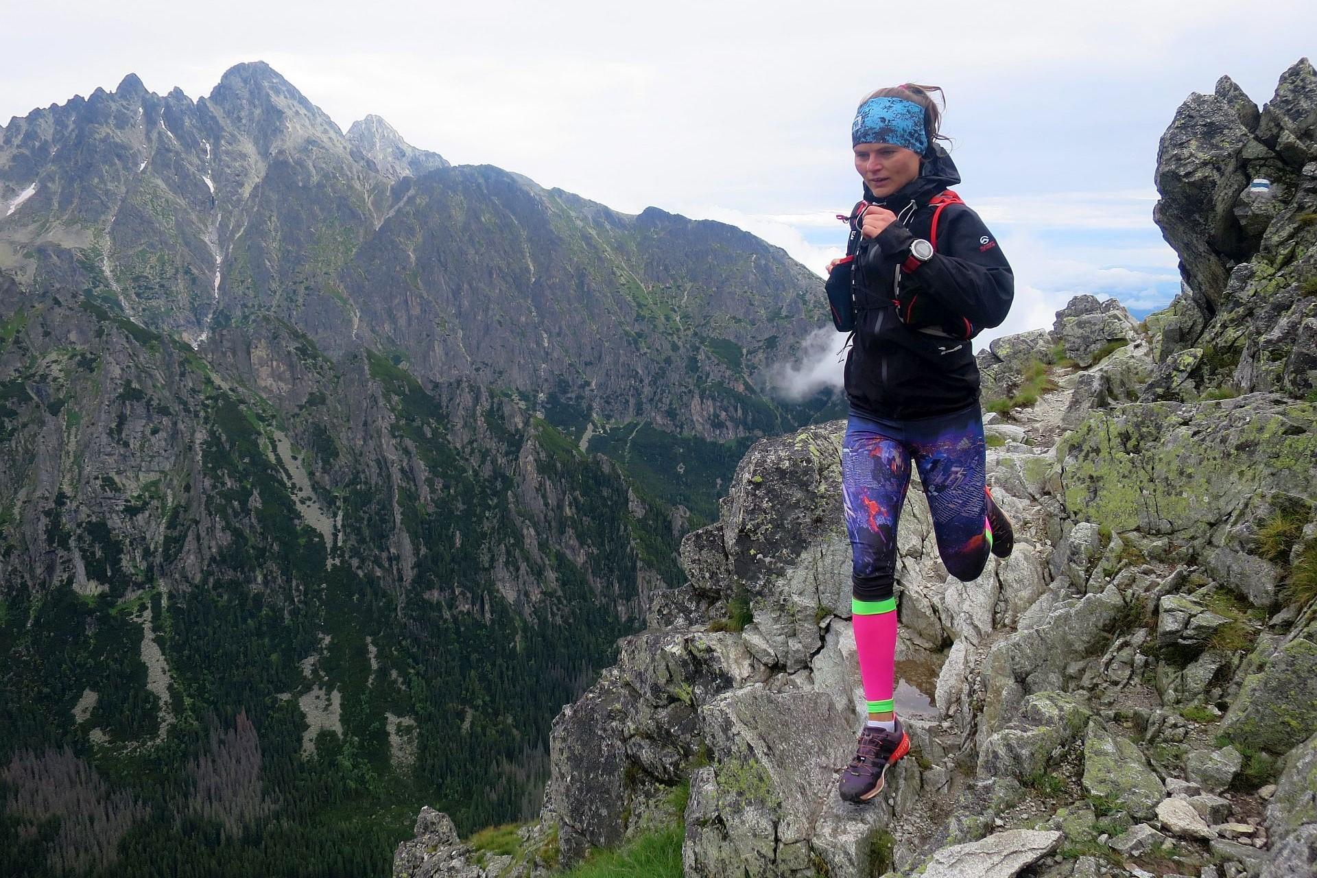 bieganie na Sławkowski Szczyt, Tatry Wysokie