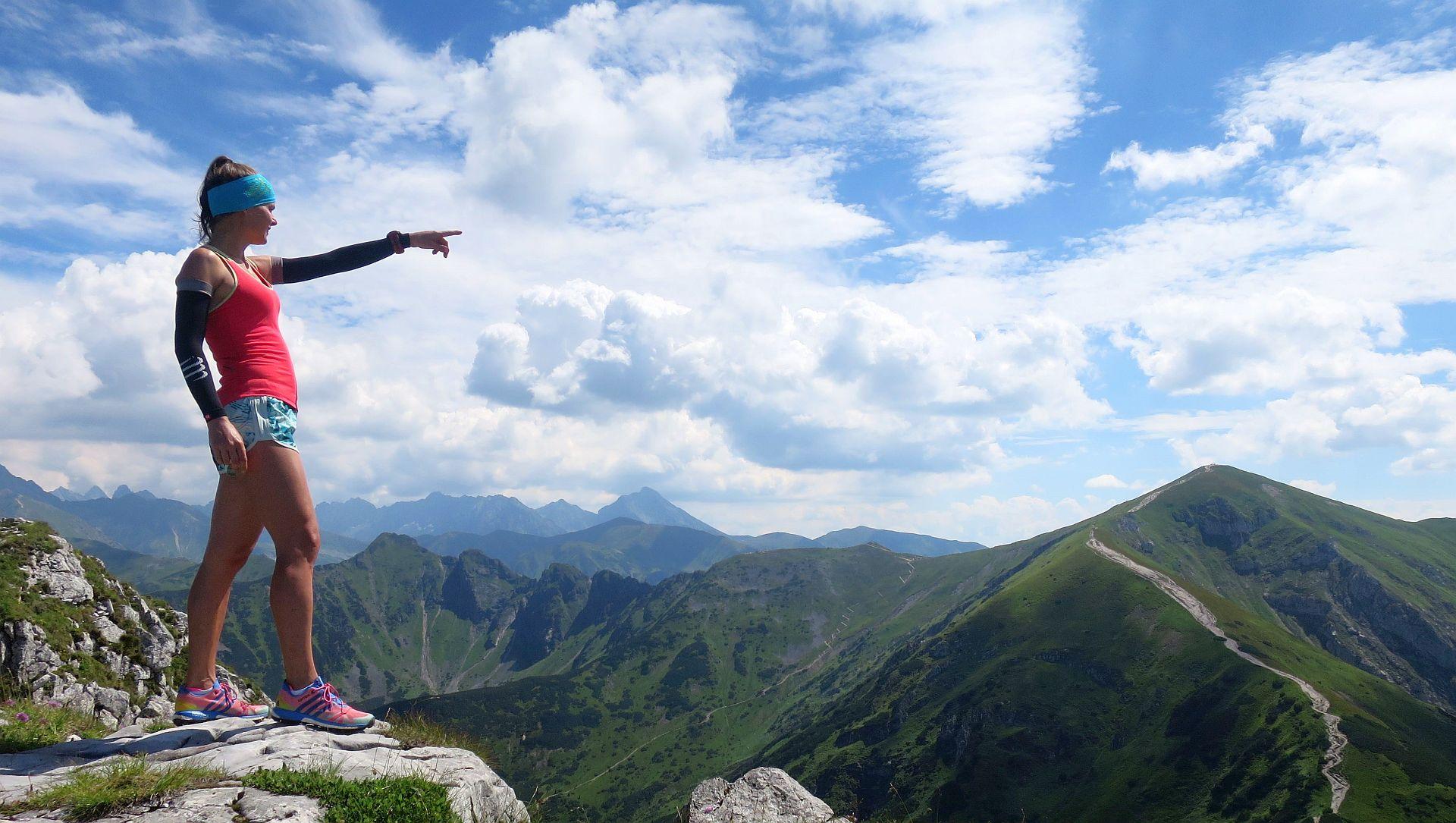 Giewont. Trening biegowy w Tatrach