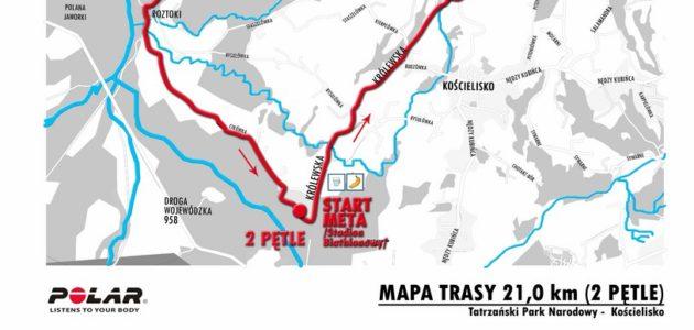 Perły Małopolski Kościelisko profil trasy
