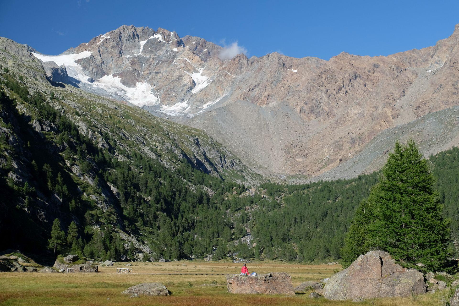 Val Masino Valle di Preda Rossa Monte Disgrazia
