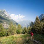 trening w Val Masino Trofeo Kima Bagni del Masino