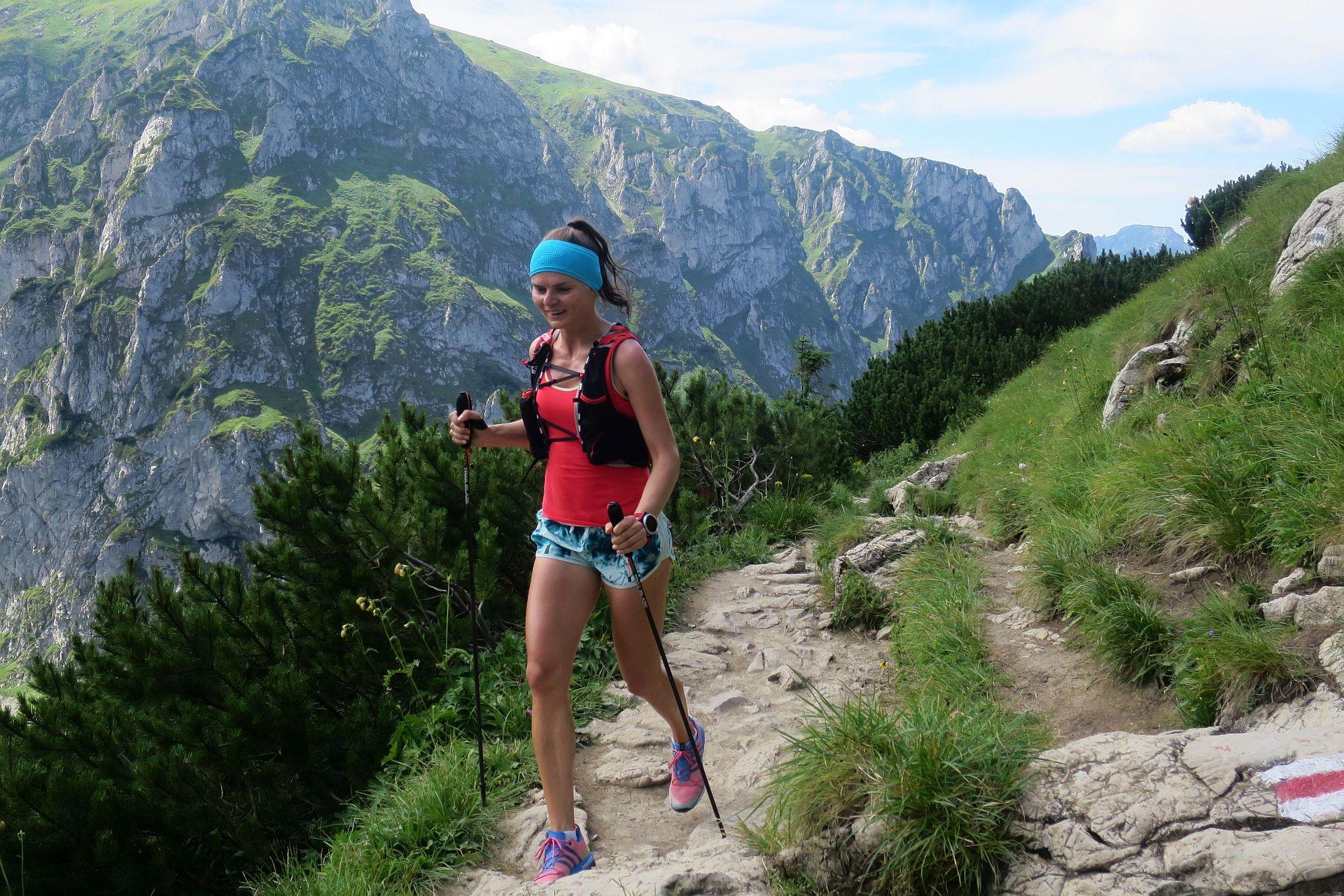 Trening biegowy w Tatrach, Giewont