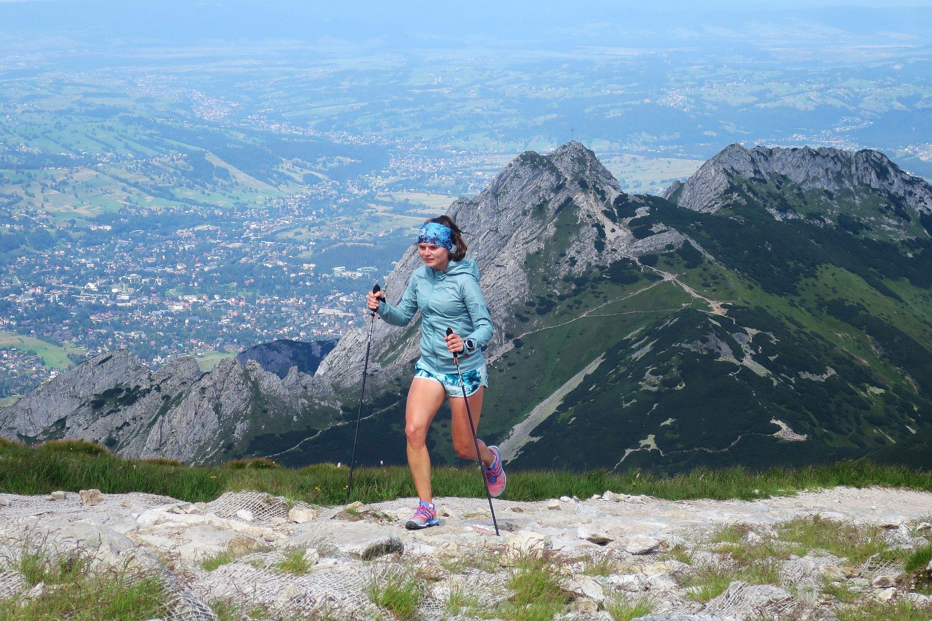 Trening z kijkami w Tatrach