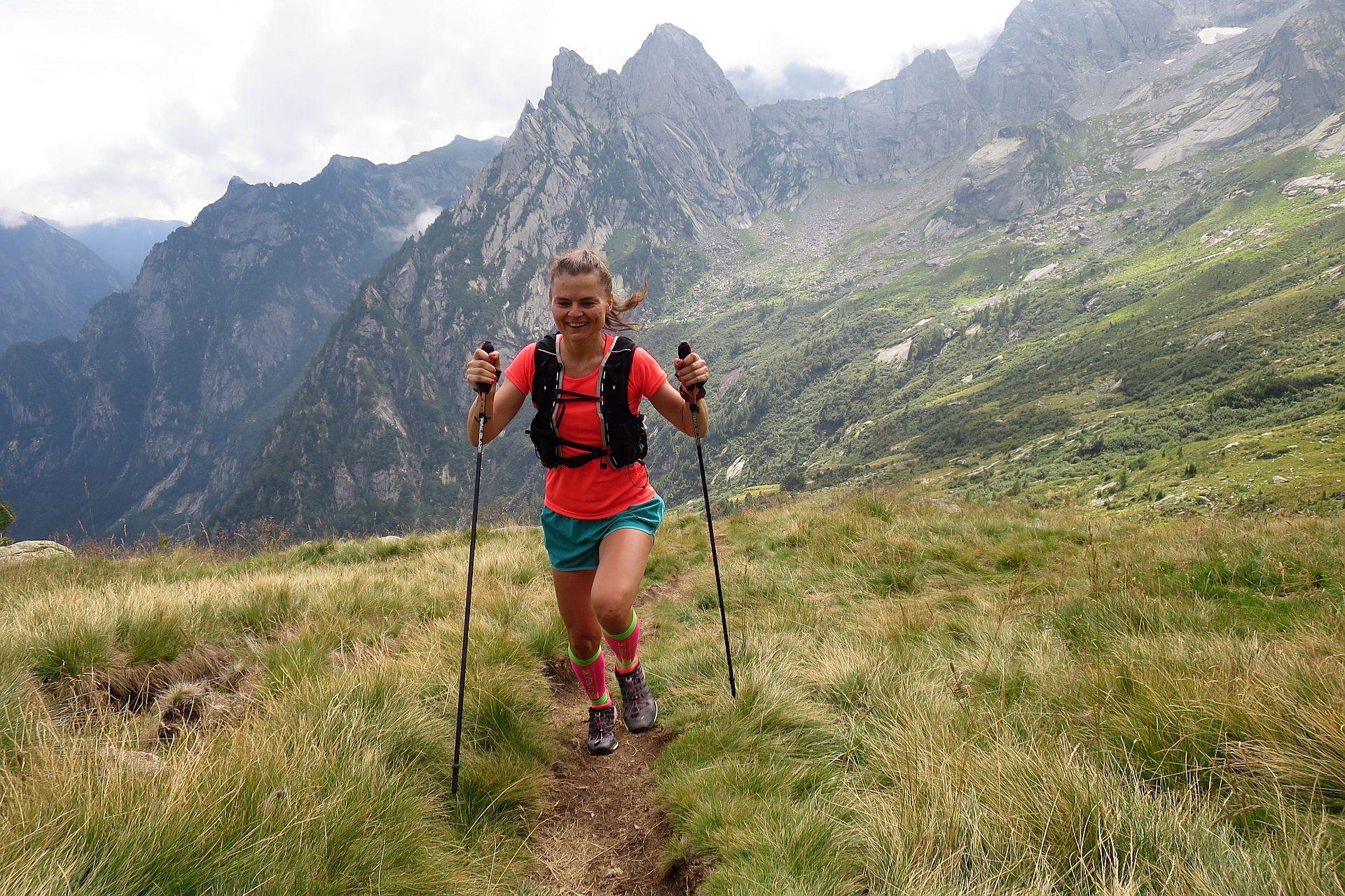 Trening w Alpach, Val Masino