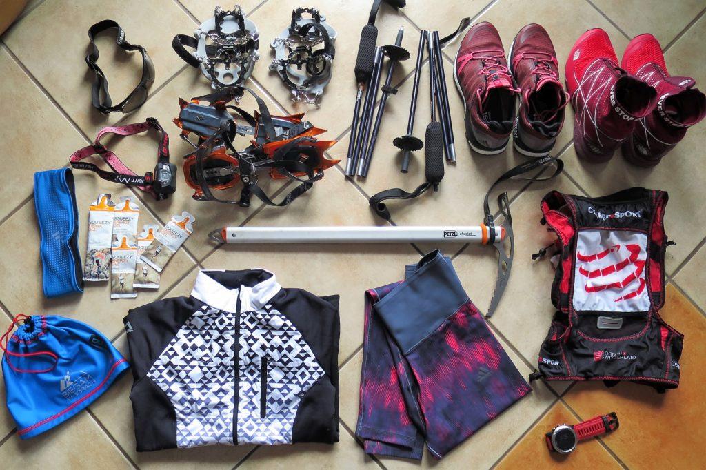 Sprzęt do biegania w górach zimą