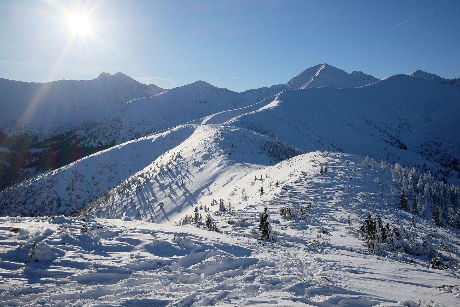 Zimowe trasy biegowe. Tatry Zachodnie, Grześ