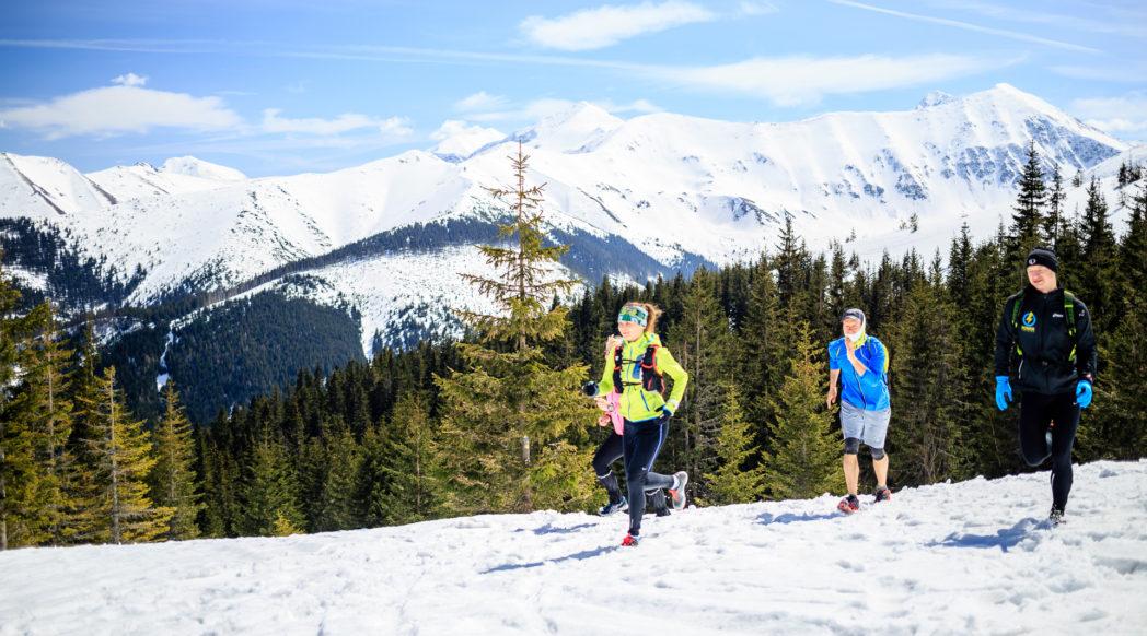 Zimowe trasy biegowe - Tatry Zachodnie #1