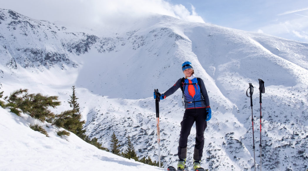 Dolina Żarska - skiturowy raj
