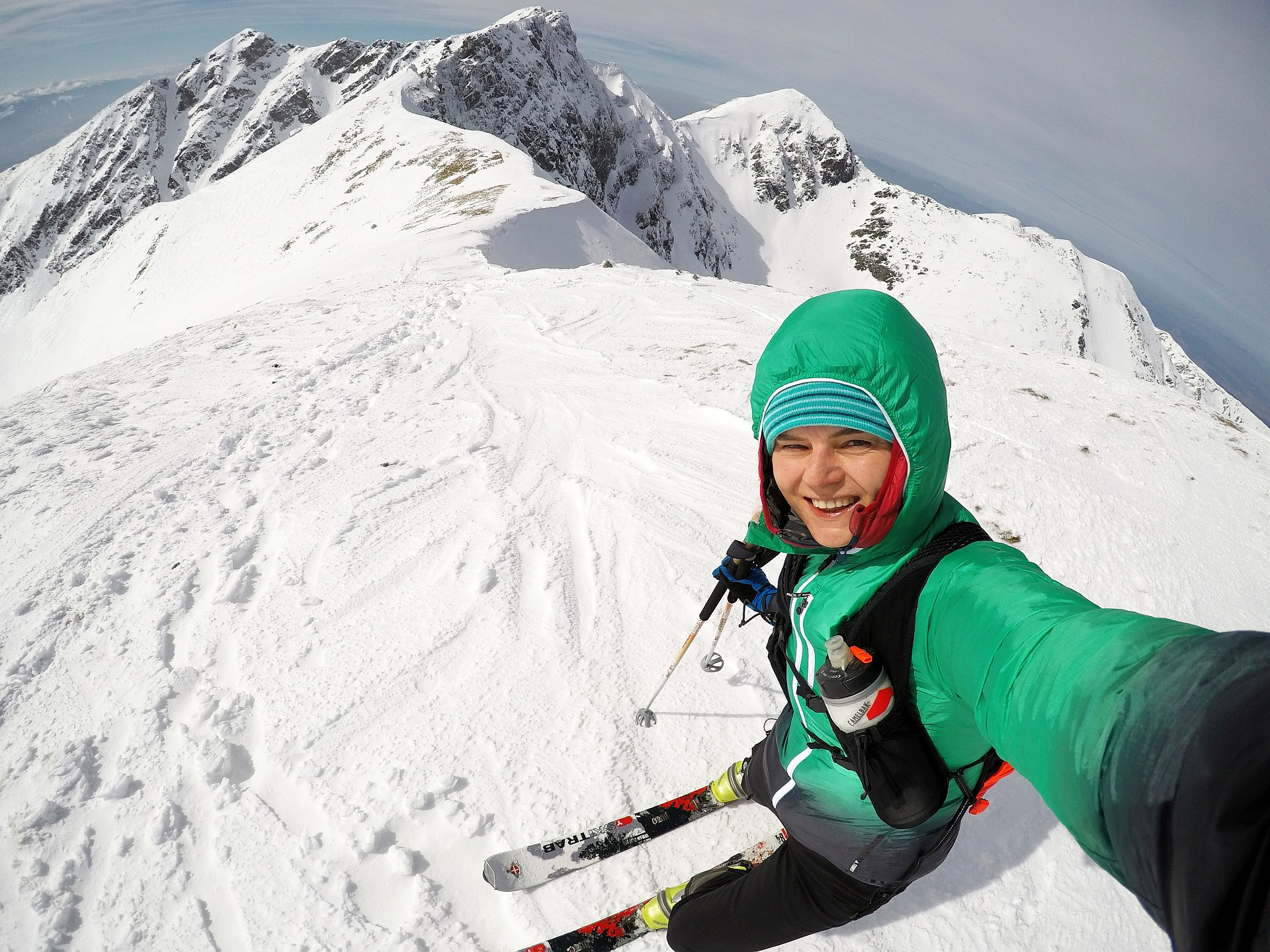 Lucne Sedlo, Dolina Żarska, skitury
