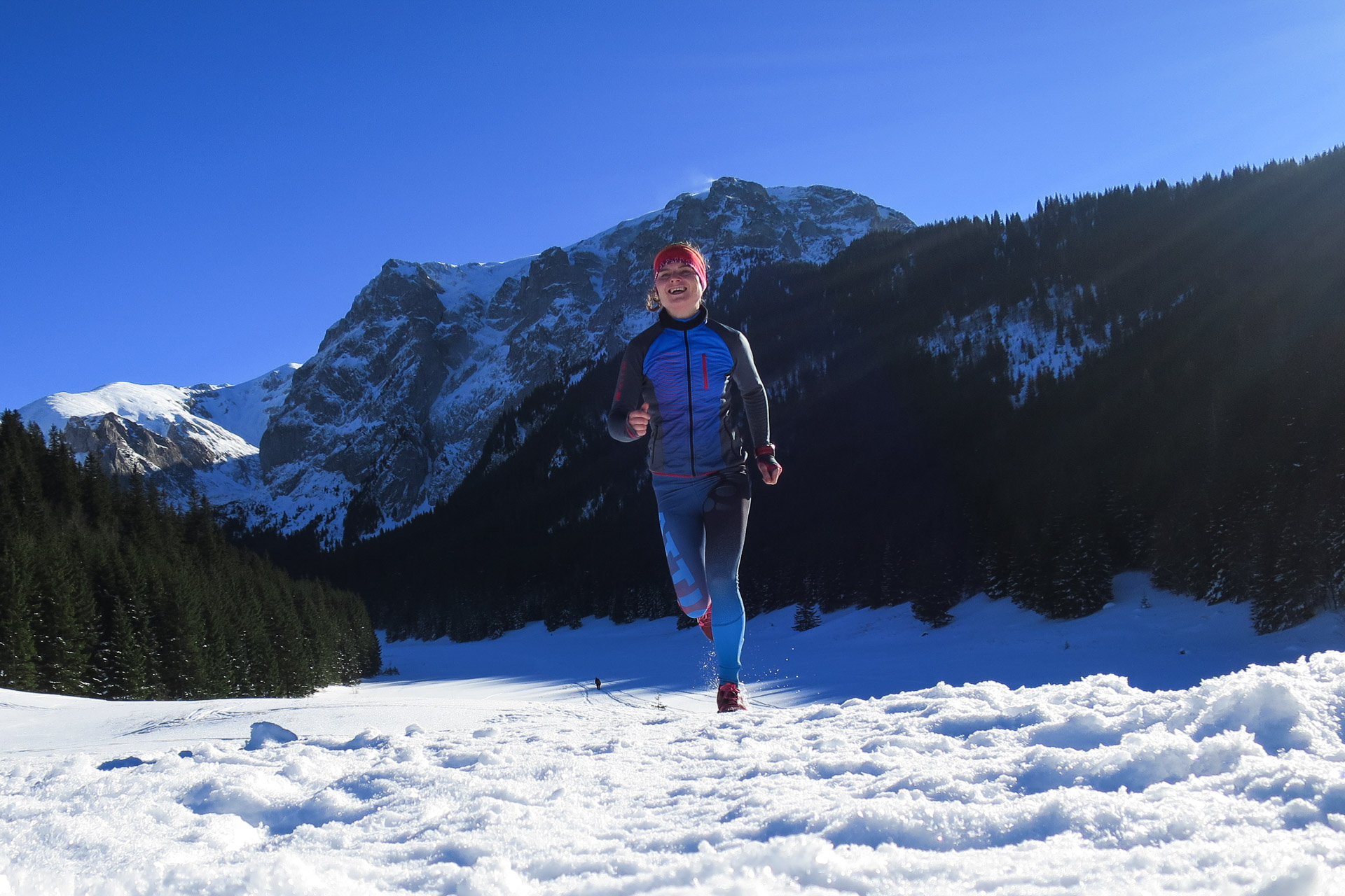 Trasy biegowe w Tatrach, Wielka Polana Małołącka