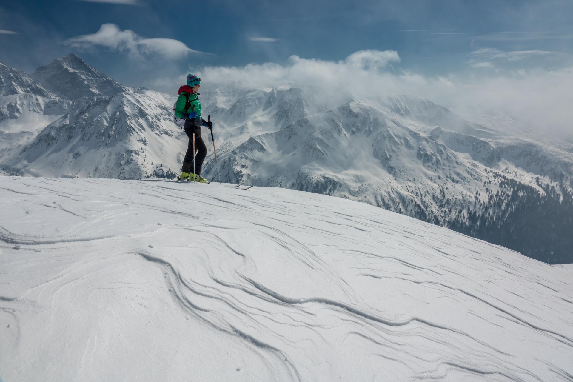 Kasprowy Wierch, skitury. Fot. Adam Brzoza