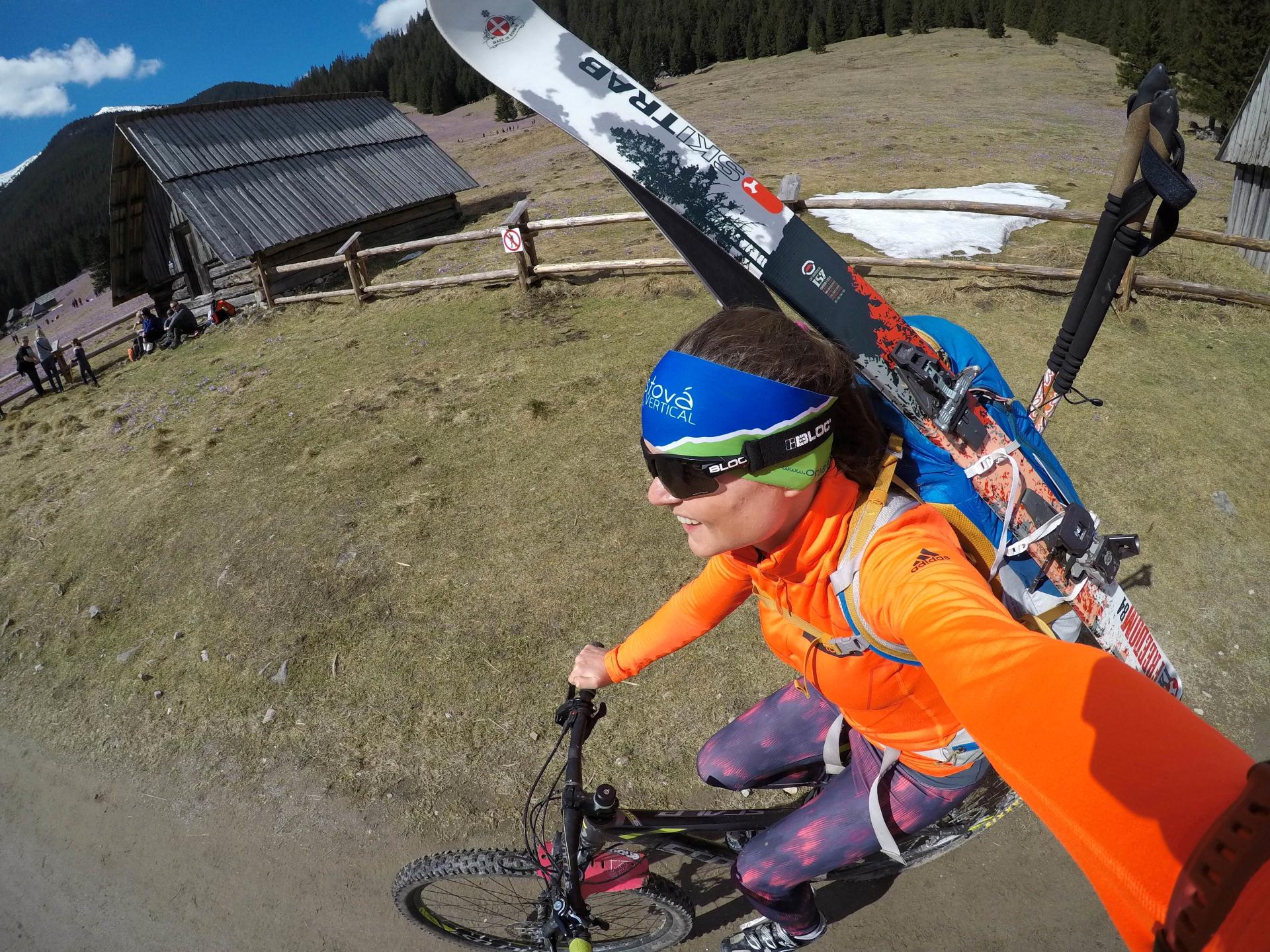 Dolina Chochołowska rower i skitury