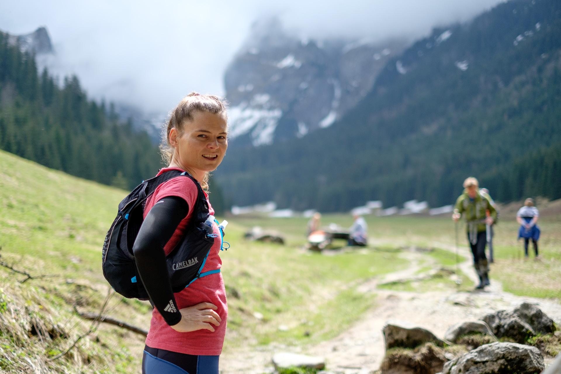 bieganie, Tatry, biegaczka, trening, ultramaratony, kamizelka CamelBak Ultra Pro Vest