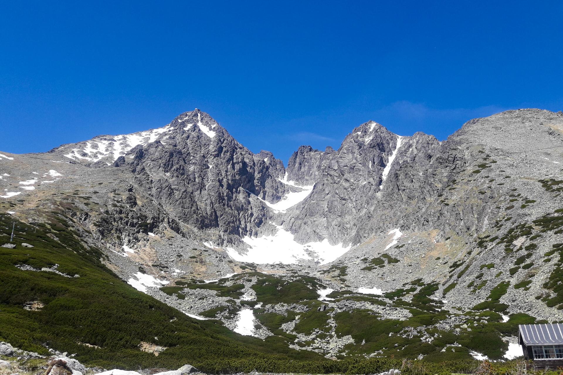 Łomnica, Łomnicka Przełęcz, Skalnate Pleso, trasy biegowe w Tatrach