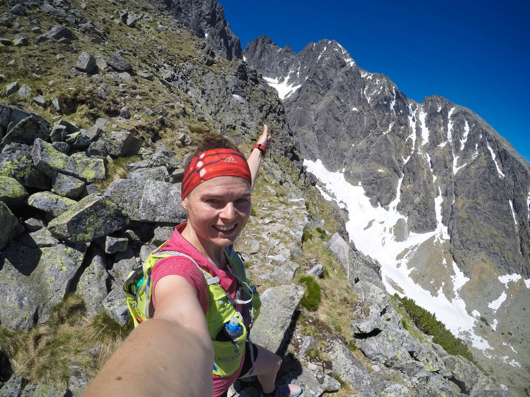 Łomnica, Łomnicka Przełęcz, biegaczka, trasy biegowe w Tatrach
