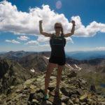Pireneje, trening, bieganie, biegaczka