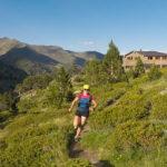 Pireneje, trening, bieganie, biegaczka, Comapedrosa