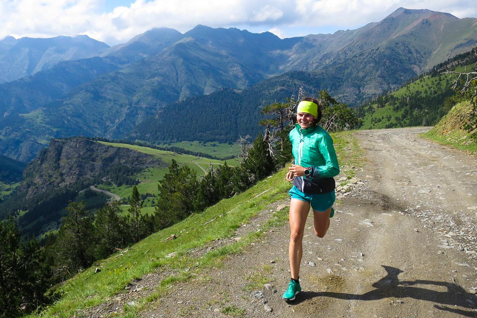 Pireneje, Andorra, trening, bieganie