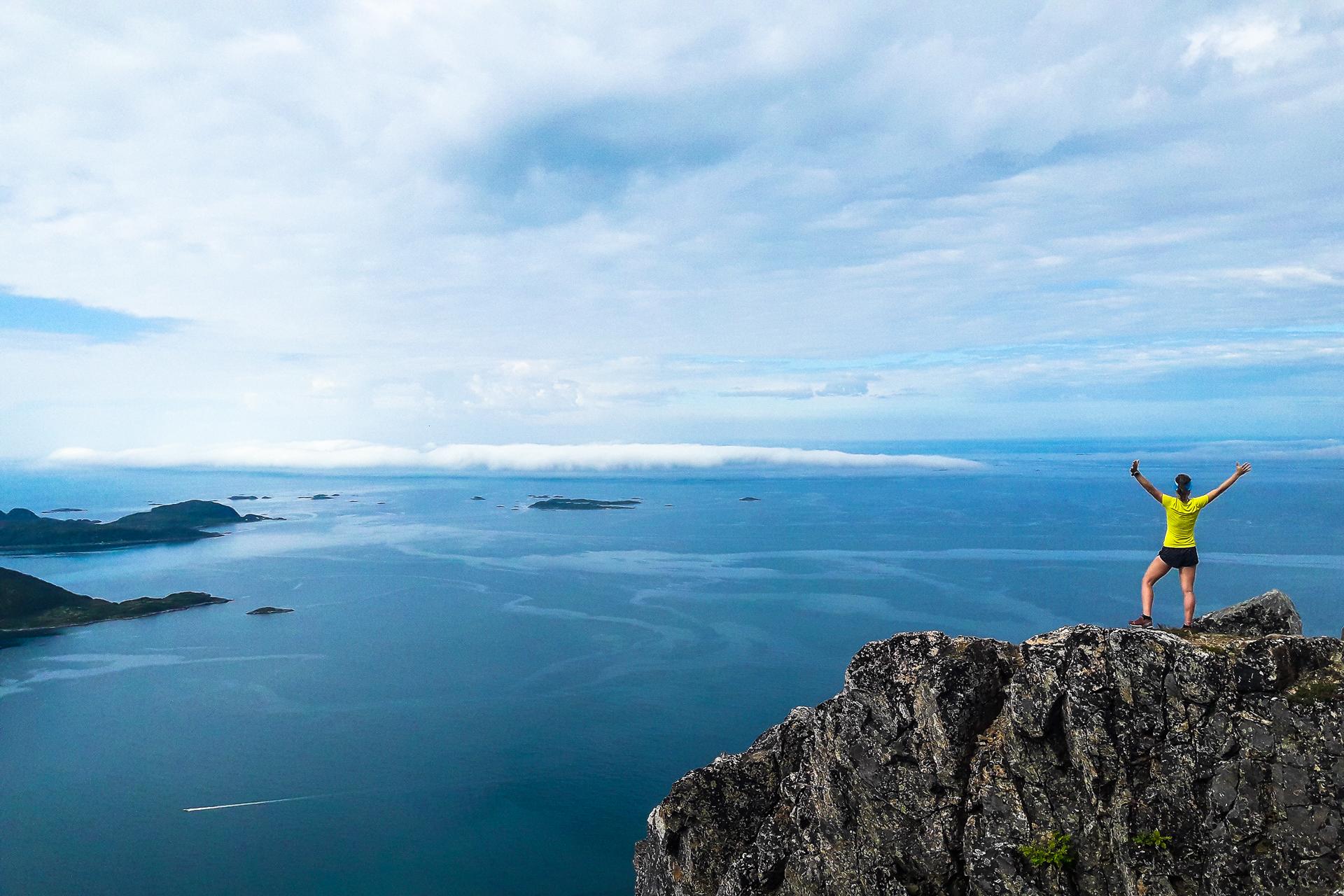 Fiordy w okolicach Tromso. Foto. Adam Michalik