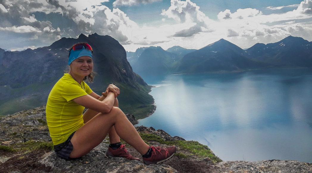 Fiordy w okolicach Tromso. Foto Adam Michalik