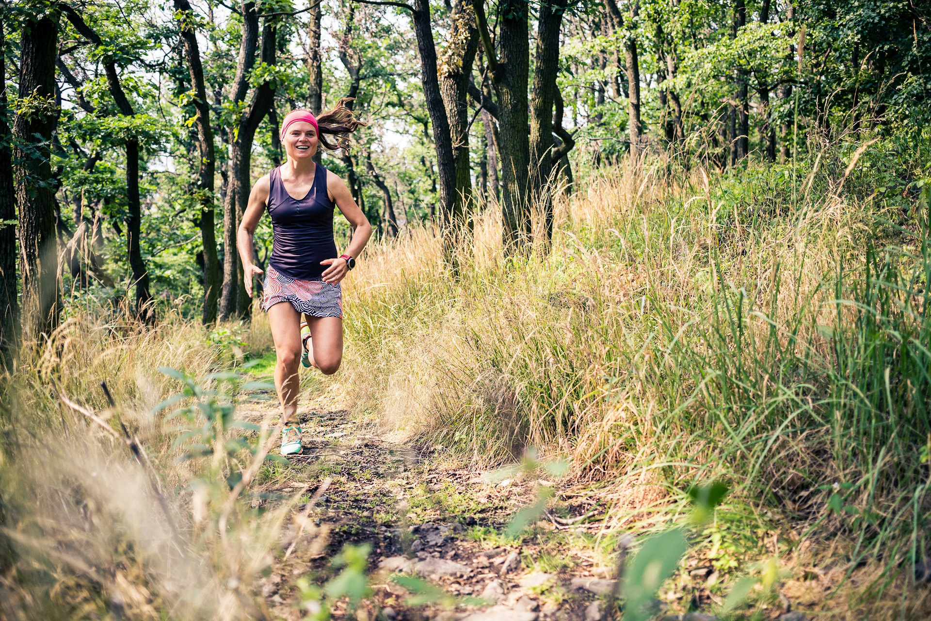 bieganie na Ślęży