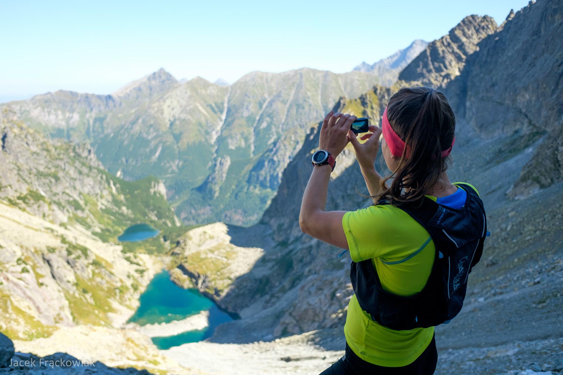 Kamizelka biegowa CamelBak Ulra Pro Vest, Waga, Dolina Ciężka, Tatry Wysokie