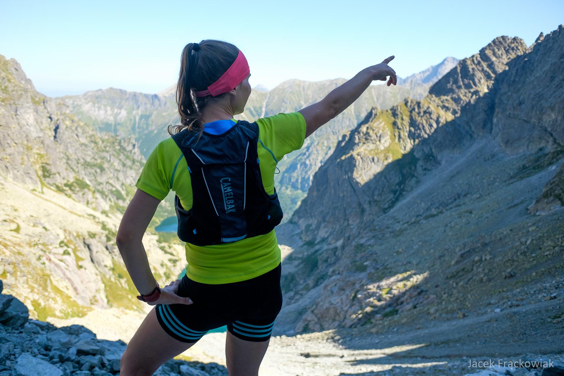Kamizelka biegowa CamelBak Ulra Pro Vest. Tatry Wysokie, Waga i Dolina Ciężka