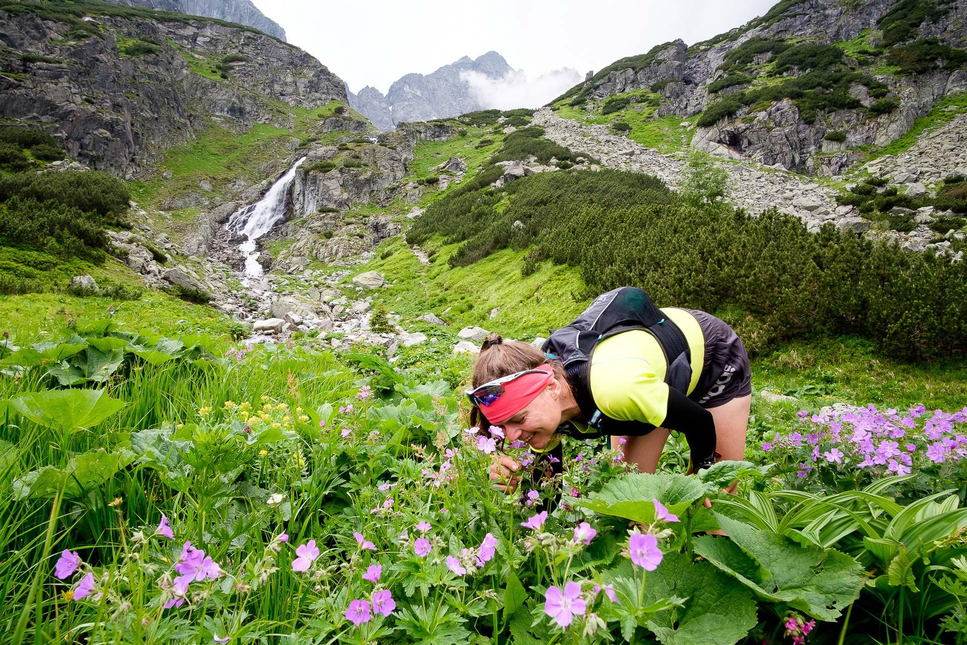 Kamizelka biegowa CamelBak Ulra Pro Vest. Dolina Ciężka, Tatry Wysokie