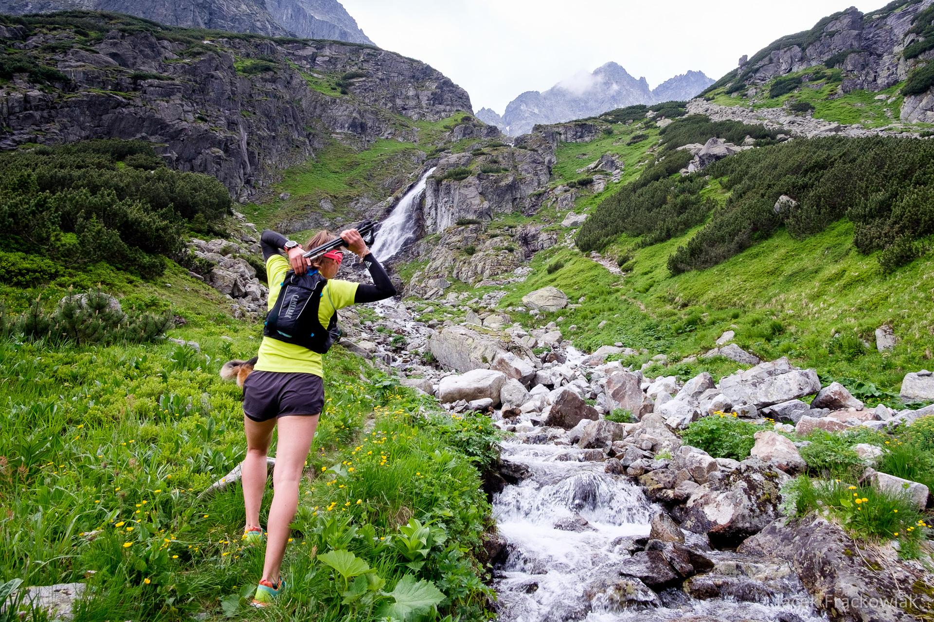 Kamizelka biegowa CamelBak Ulra Pro Vest, Tatry Wysokie, Dolina Ciężka