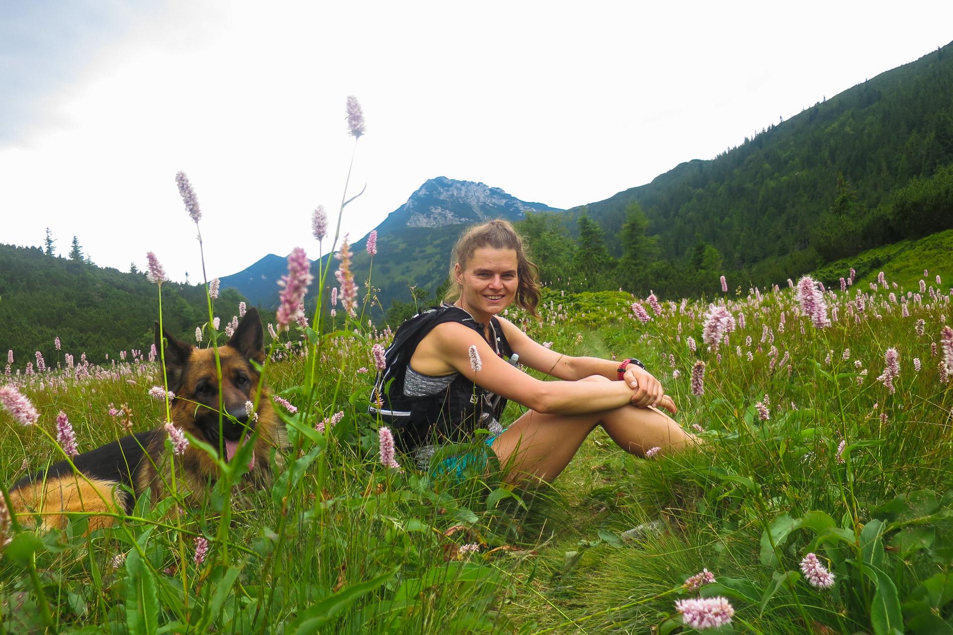 Trasa biegowa, Dolina Jałowiecka. Tatry Zachodnie