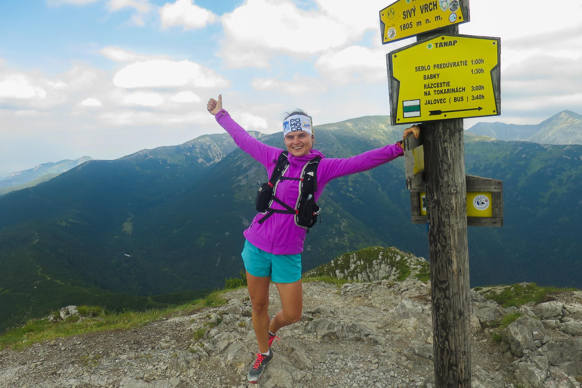 Trasa biegowa, Dolina Jałowiecka, Siwy Wierch, Tatry Zachodnie