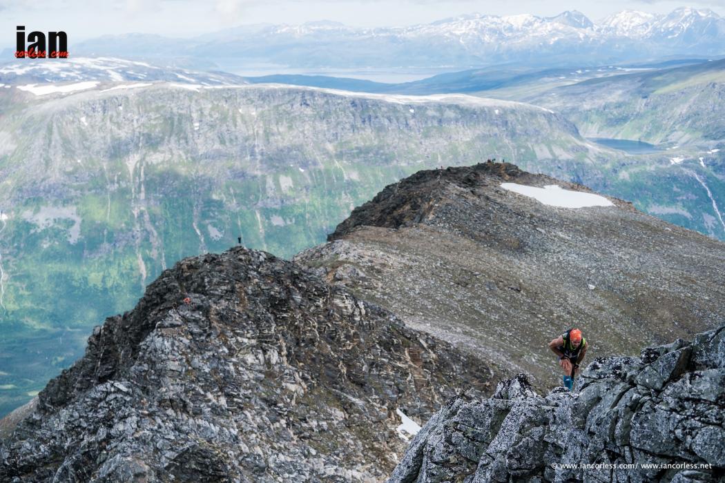 Tromso Skyrace 2017, Hamperokken. Foto Ian Corless