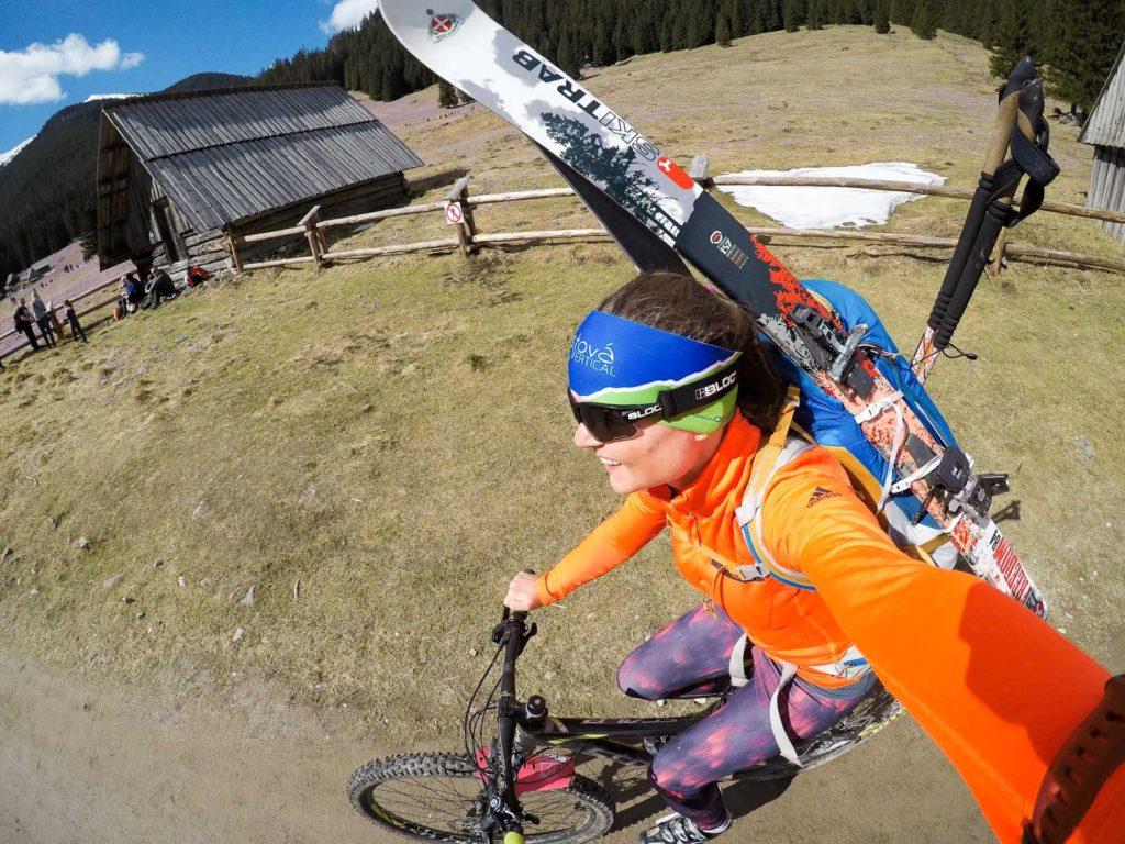Dolina Chochołowska, rower i skitury