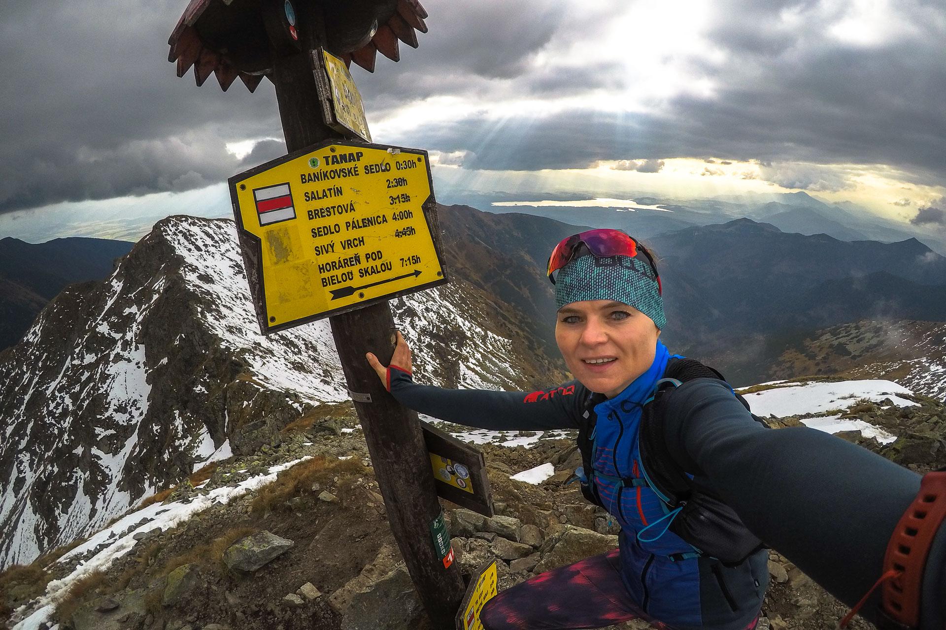 trasy biegowe, Banówka, grań Tatr Zachodnich