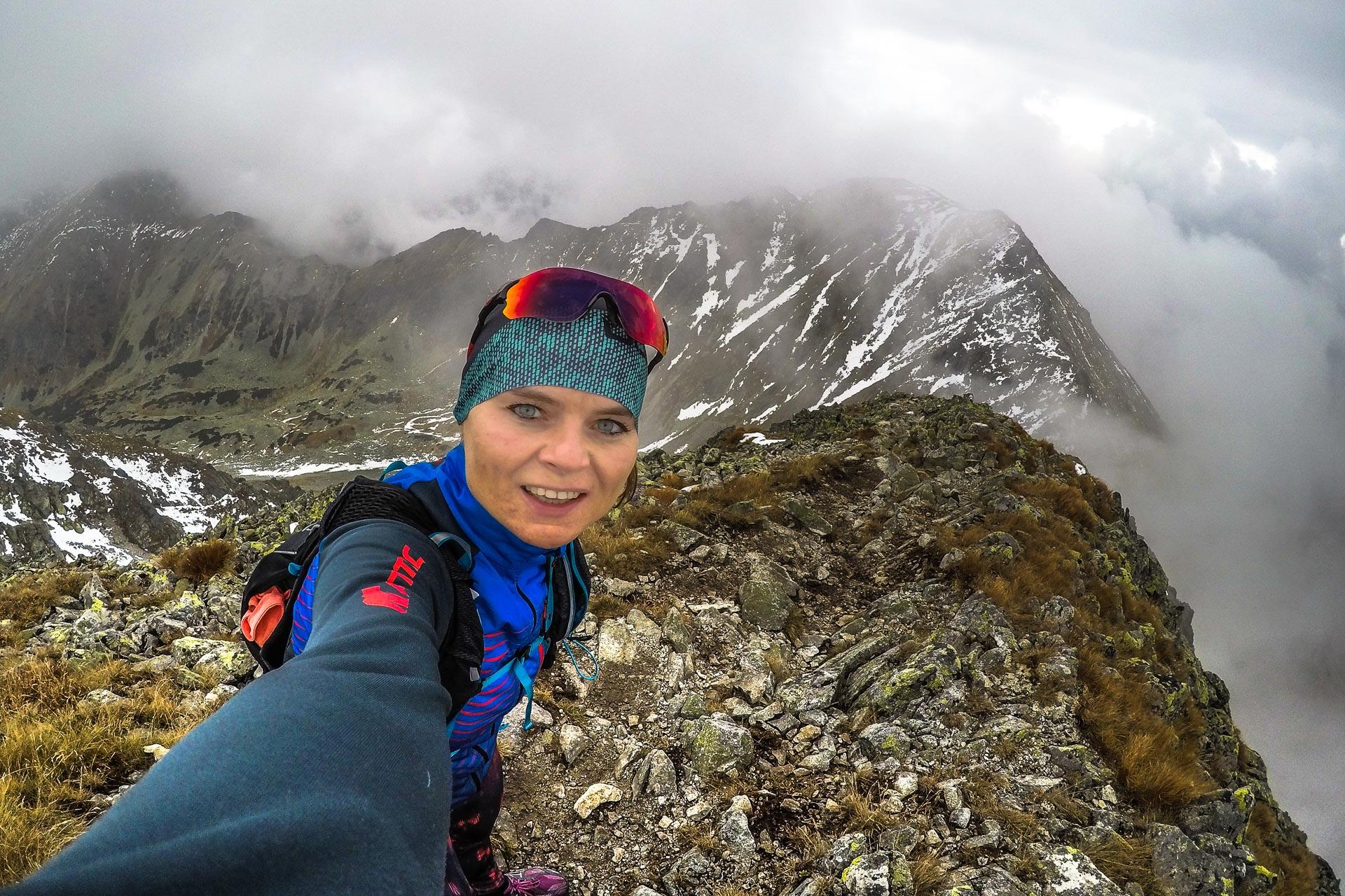 trasy biegowe, grań Tatr Zachodnich