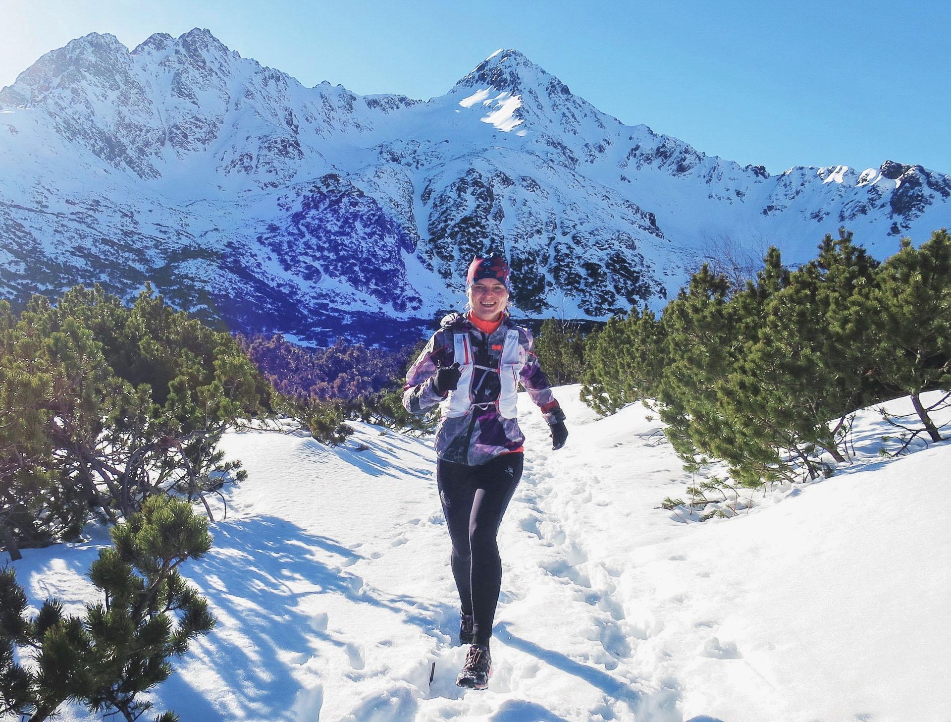 wycieczka biegowa, Białe Stawy, Tatry Słowackie