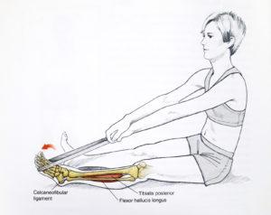 Wygięcie stopy w dół, ćwiczenia wzmacniające dla biegaczy