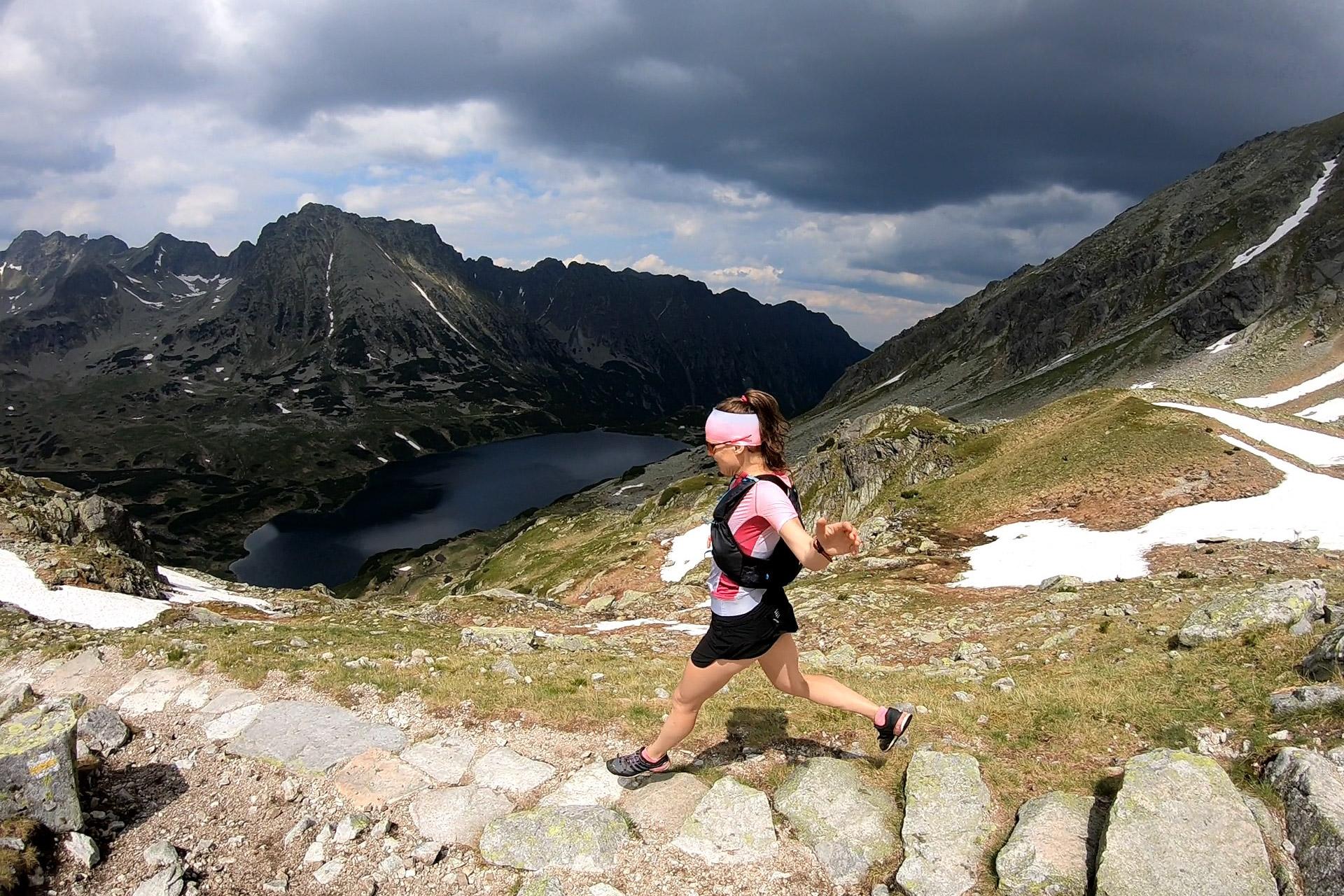 Dolina Pięciu Stawów, Tatry Wysokie, bieganie po górach